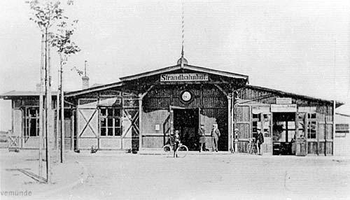 125 Jahre Eisenbahn Lübeck - Travemünde - Strandbahnhof
