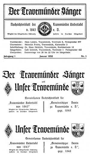 """So fing es an! zum 50. Geburtstag von """"Unser Travemünde"""""""
