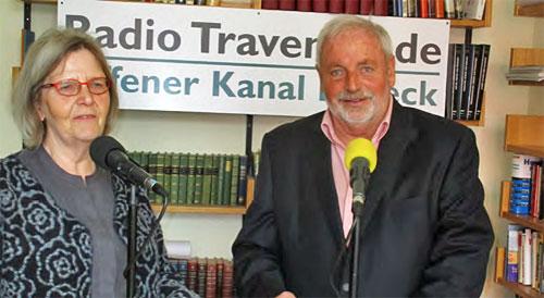 Maria Bommert und Bürgerpreisträger 2018 - Rolf Fechner