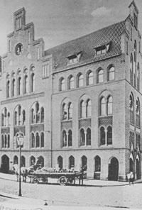 Firmensitz Emil Possehl in der Beckergrube