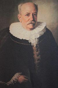 Emil Possehl im Senatsornat