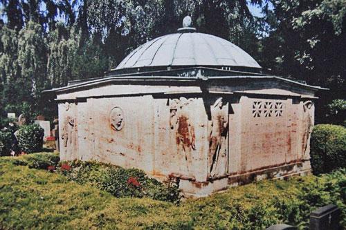 Emil Possehl Mausoleum auf dem Burgtorfriedhof