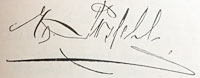 Emil Possehl Unterschrift