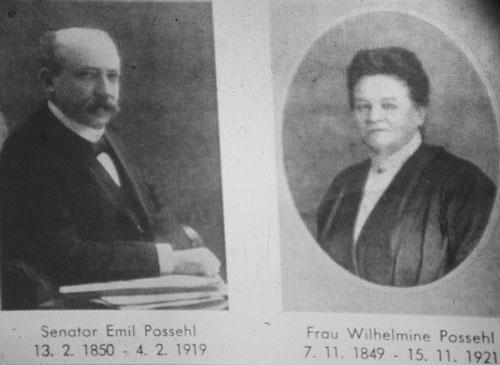 Emil und Wilhelmine Possehl