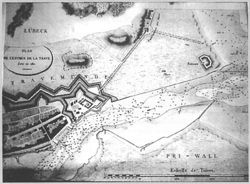Travemünde im Jahre 1811