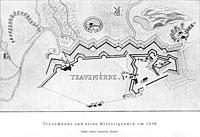 Travemünde und seine Befestigungen um 1630