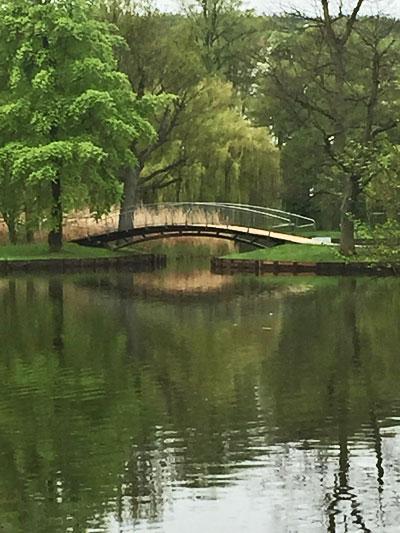 Godewindpark - die Brücke