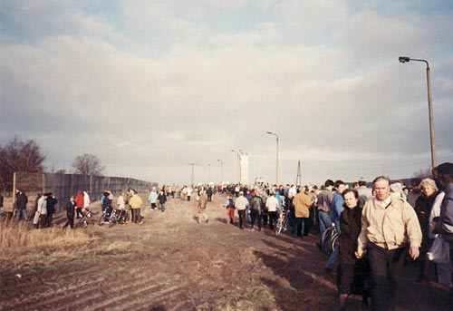 Grenzöffnung Priwall 1990