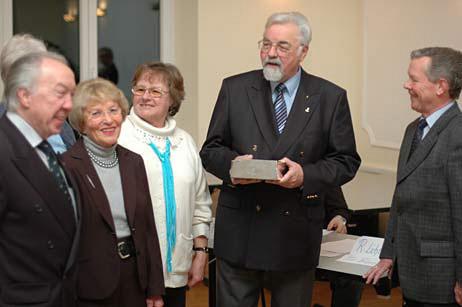 Bürgerpreisträger des Gemeinnützigen Vereins zu Travemünde e.V. 2009 - Der Travemünder Hafenstammtisch