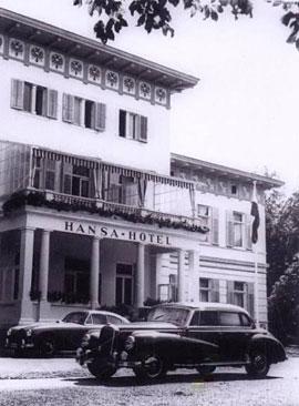 Hansa-Hotel Travemünde mit Mercedes 300