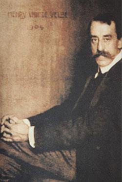 Innenarchitekt und Künstler Henry van de Velde