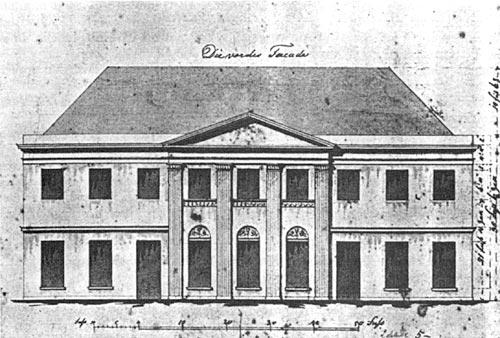 Entwurf für das Kurhaus 1820