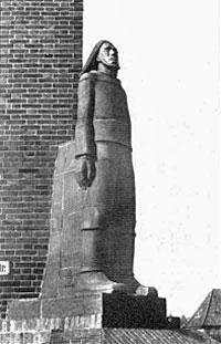 Lotsenstatue Travemünde von Ludwig Kunstmann (1877-1961)