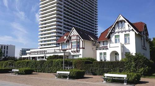 Maritim Travemünde und Strandpromenade 1 und 2