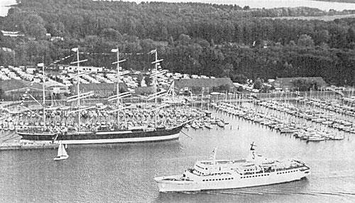 """Die Passat 1996 mit der """"Baltic Star"""" vor dem Werftaufenthalt"""