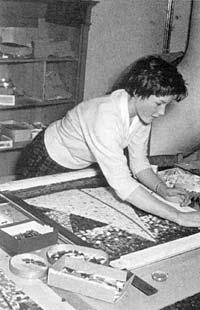 Mosaik-Herstellung Stadtschule Travemünde