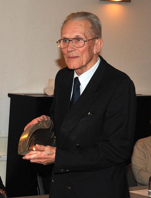 Bürgerpreisträger des Gemeinnützigen Vereins zu Travemünde e.V. 2011 - Siegfried Ziemann