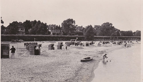 Strand vor der Kaiserallee © Archiv R. Fechner
