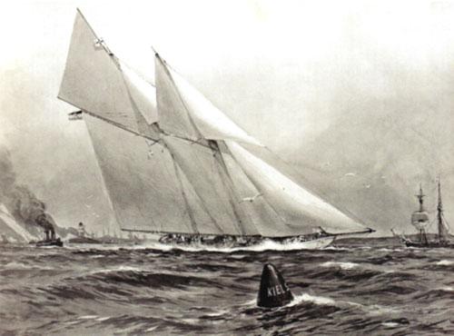 Travemünder Woche 1909