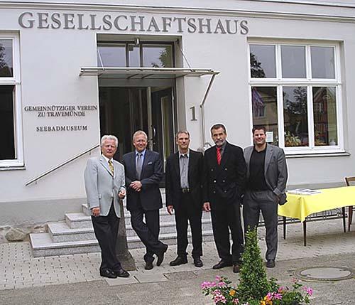 Vorstand Heimatverein Travemünde