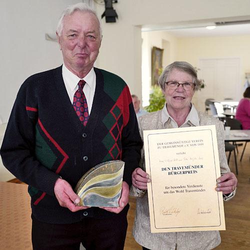 Bürgerpreisträger 2019 – Wilfried und Magda Moll